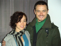 Kristina Chan and Paul White